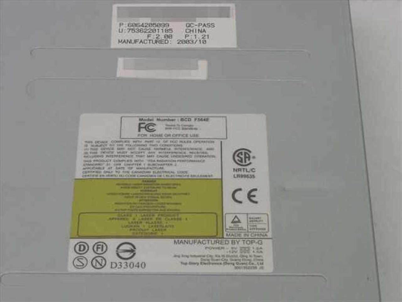 BTC BCD-F564E New