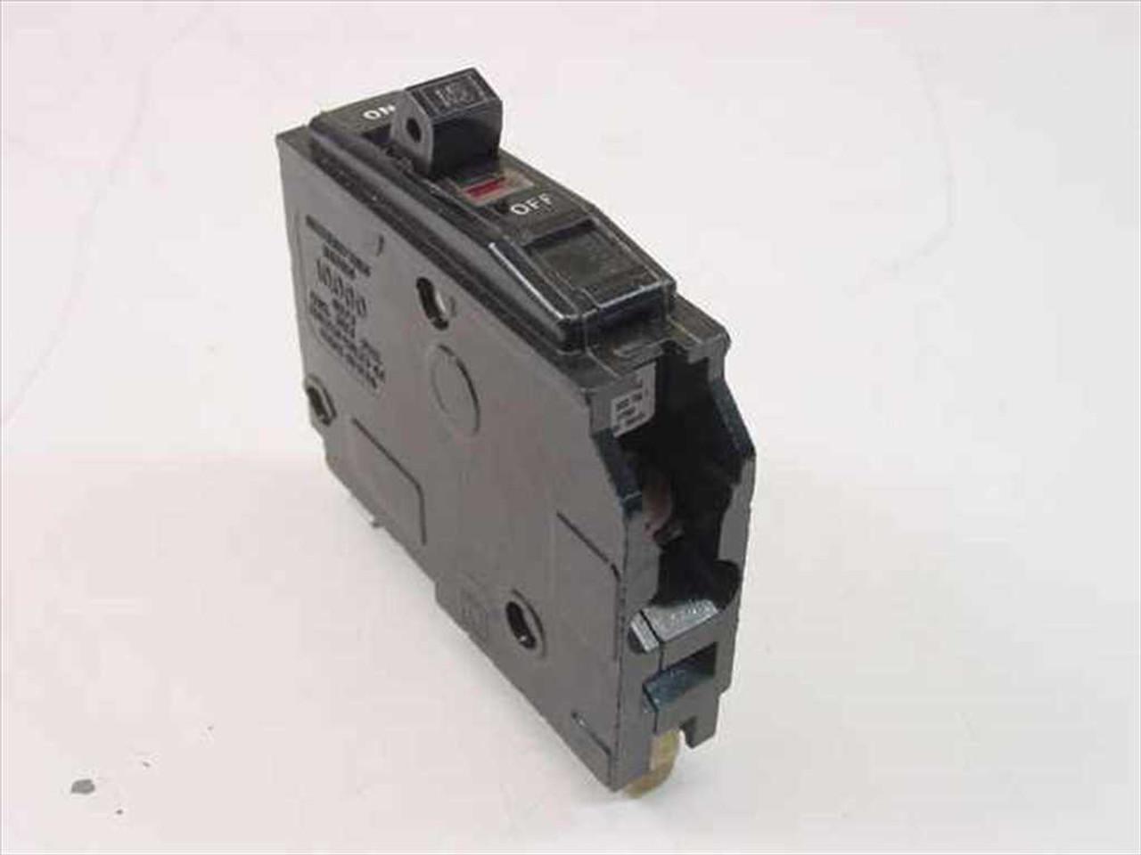 Square D LD-841 Type 00 1 Pole 15 Amp Circuit Breaker ...