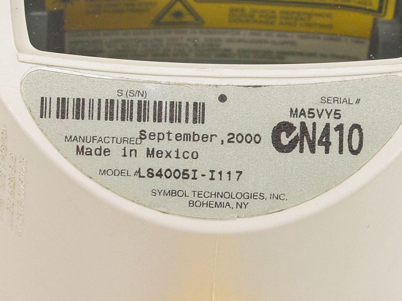 Symbol Ls 4000i Ls4005i I117 Barcode Scanner Recycledgoods