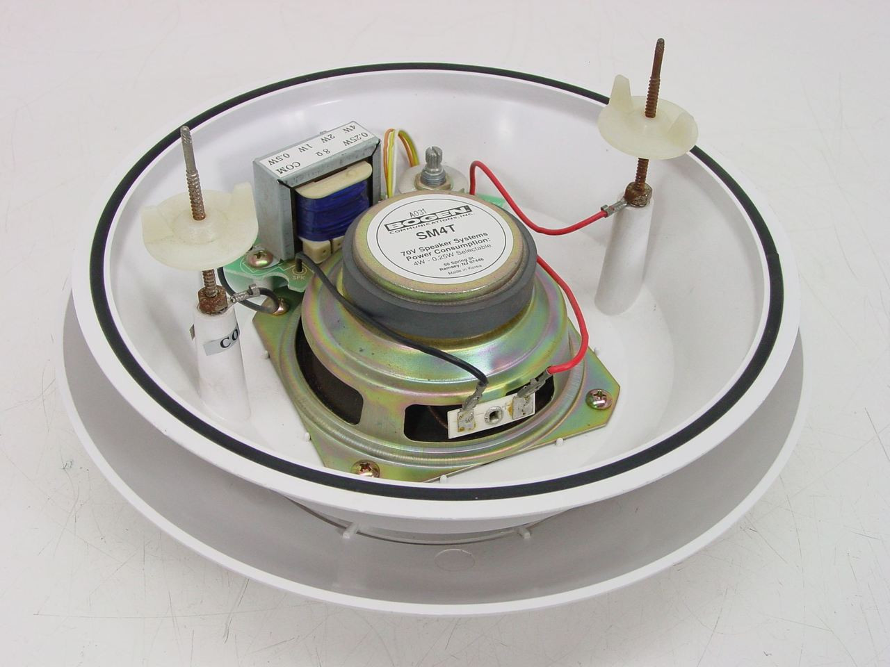 bogen communications inc sm4t 70v speaker system 4w 0. Black Bedroom Furniture Sets. Home Design Ideas