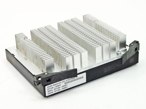 Intel Pentium III Xeon Processor 500 MHz, 512K (SL3D9)