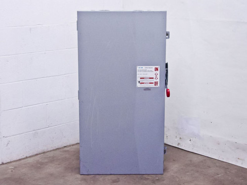 Eaton DH365NGK 600 Volt 400 Amp Heavy Duty Safety Switch Enclosure w/Fuses