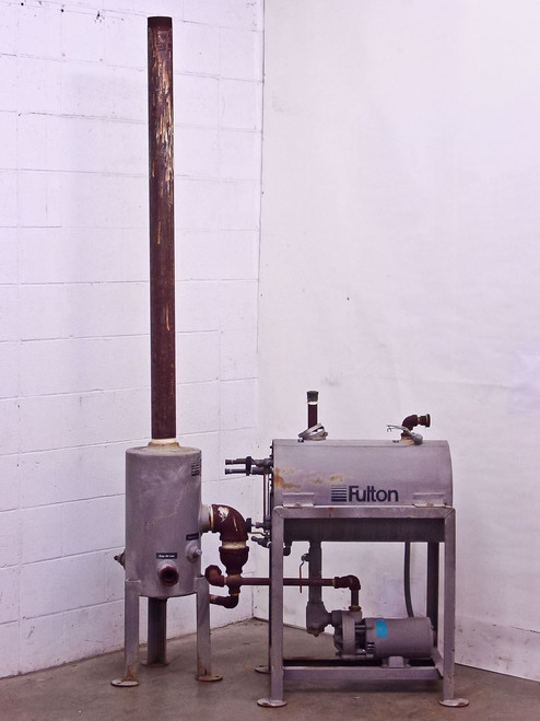 Fulton Horizontal Condensate Steam Boiler Return System with Blow-Off Separator