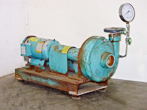 PACO LF Frame Mounted End Suction Centrifugal Pump 3-HP 100 GPM 3-Phase (20953)