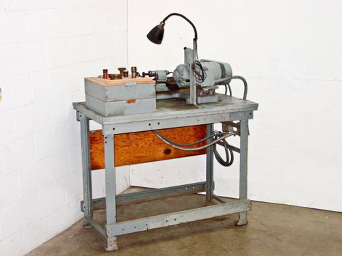 Ternstrom & Swanson Compact Shop Specialty Tool Lathe w/ Hardinge Collets with Stand