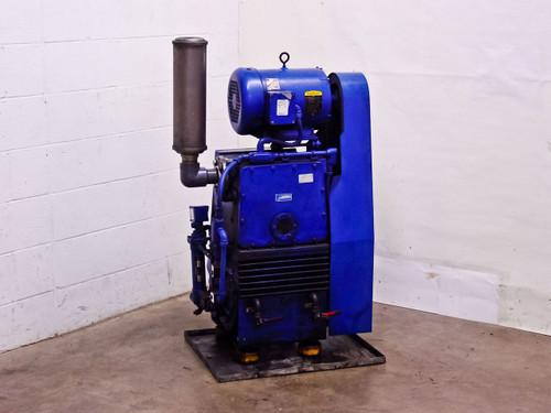 Tuthill Vacuum Systems KTC112 Kinney High Vacuum Pump 7.5 HP Motor 107 CFM