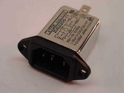 TDK Power Line Input Module - Noise Filter - Jolt ZUG2206-11
