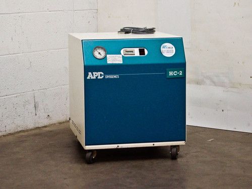 APD Cryogenics HC-2D Helium Compressor Water Cooled 208-230/200 VAC 256639E18G