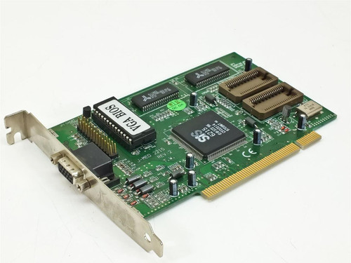 Sis PCI Video Card 15 Pin 1996 (6215)