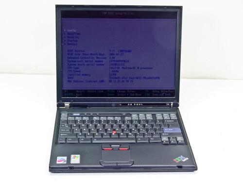 IBM T42 1.0GHz Centrino, 512MB Ram, 40GB HDD 23795VU