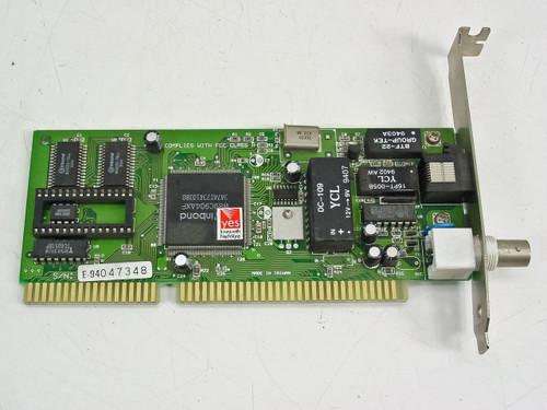 Winbond 16 Bit ISA Coax Network Card 60-E2014AC-2