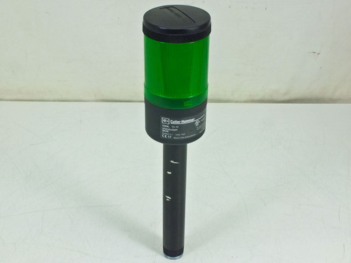 Cutler-Hammer Stacklight Base with Green Light Module (E26BL)