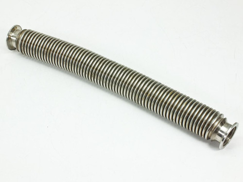 "QF-Flanged Unbraided Hose 2.125"" Diameter 19.25"" Long"