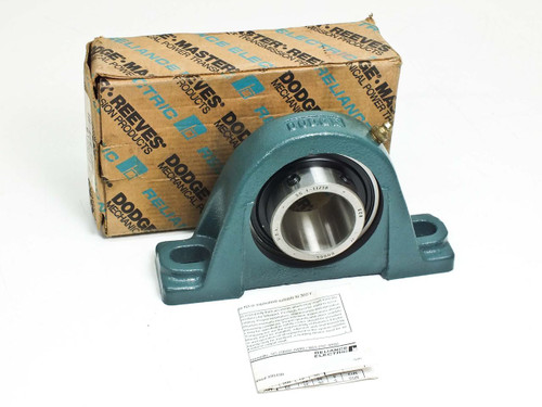 "Dodge 1-11/16"" Pillow Block Normal Duty Non Expansion Bearing (P2B-SC-111)"
