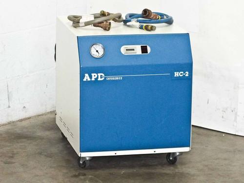APD HC-2 Cryogenics Helium Vacuum Cryo Compressor - Water Cooled