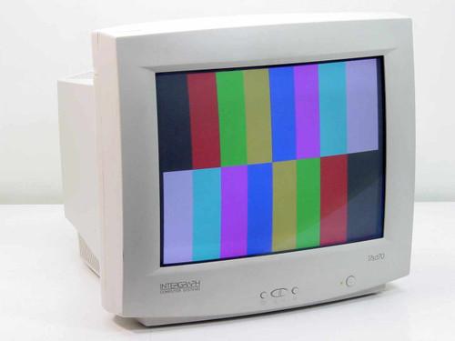 """Intergraph 17"""" CRT SVGA 7sd70 Monitor - No Base (MDSP178)"""