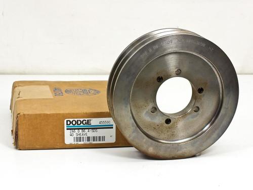 Dodge 2 V-Groove QD Sheave (455591)