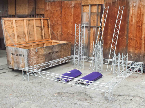 Opti V-Truss Trade Show Display Truss with Road Case (Trilite 100 Series)