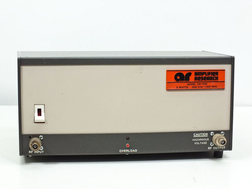 Amplifier research Broadband Amplifier 500 KHz-1000MHz 5 Watts (5W1000)