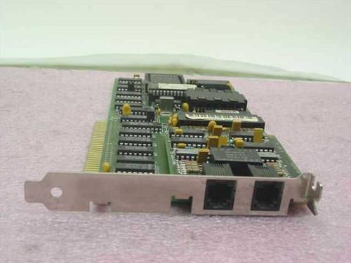 IBM 8-BIT ISA Baseline Network Card (2X)RJ-11 PS/2 853 (72X8017)