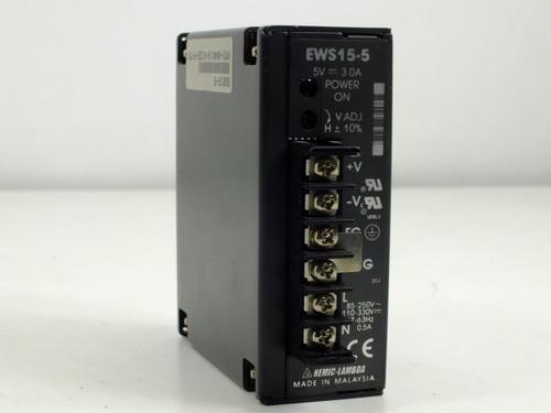 Nemic-Lambda Power Supply 5V 3.0A (EWS15-5)