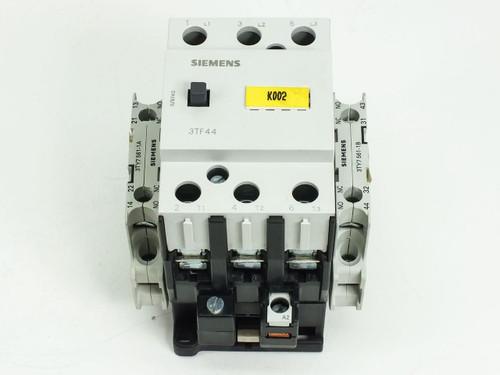 Siemens 3TF4422-0A Air Break Motor Starter Contactor 230V Coil 3TY7 433-0AL2