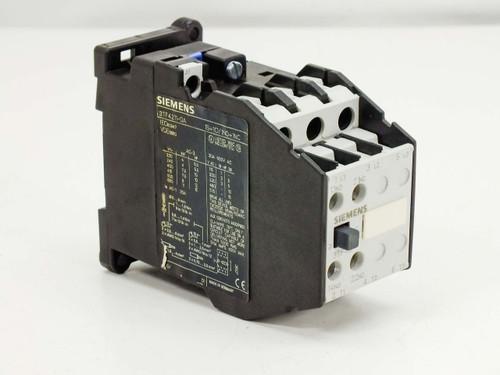 Simemns 3TF4211-0A 3-Pole Contactor 30A 600V 15HP - Din Rail Mount
