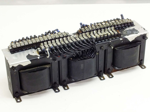 Varian M.E.D. 3 Gang Tapped Inductor for High Voltage Power Supply (01-000531)