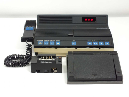 Dictaphone Cassette Dictation Transcriber / Recorder with Accessories (2870) - Mini Cassette will not fast forward
