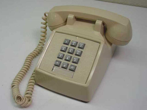 ITT / Cortelco Single Line Telephone - Beige (250044-MBA-20M)