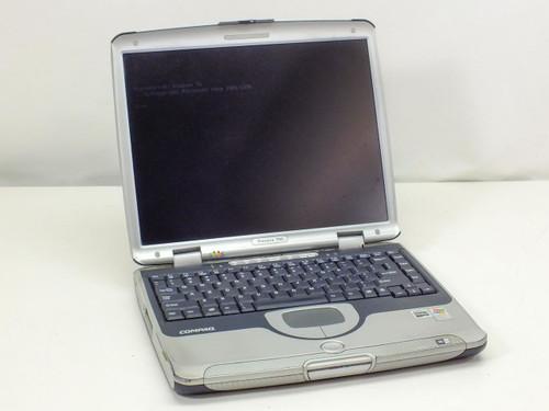 Compaq Presario 700 AMD 1.0GHz 20GB HDD 128MB RAM Laptop (cracks in plastic)