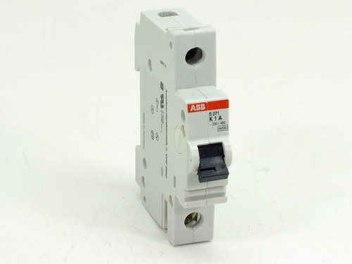 ABB S271-K1A Circuit Breaker 1AMP 1POLE 230VAC