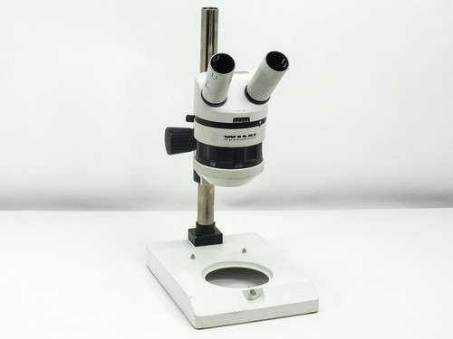 Wild Heerbrugg 6x-50x Zoom with Focus Block and Stand Microscope (M5A)