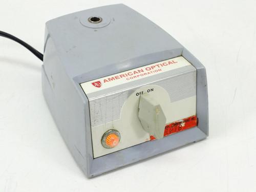 American Optical Microscope Light Source / Illuminator ON/OFF NO BULB (365)