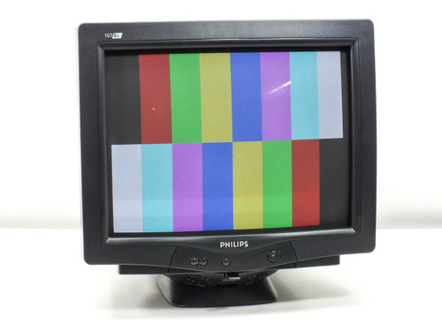 "Philips 17"" 107G6 CRT Black Computer Monitor (107G66/27)"