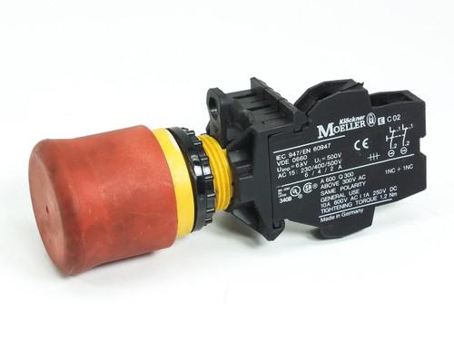 Eaton Moeller Button with IEC 947/EN 60947 Switch (Emergency-Stop)