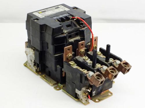 Square D Nema size 4 Form s Series A Motor Starter (8536 SF01s)