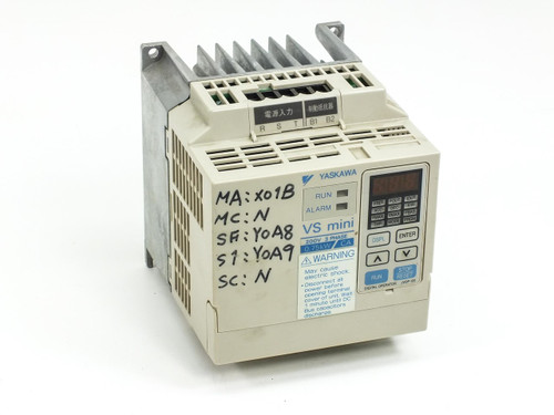 Yaskawa Inverter Drive VS mini 200V 3 PH 0.75kW CIMR-XCAA20P7