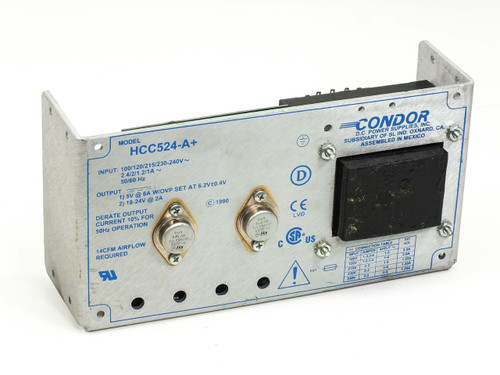 Condor DC Dual Power Supply 5V 6A / 18-24V 2A HCC524-A&