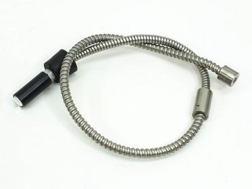 "Fiber-Optic Light Source Flex Cable 27"" Long Chrome (Microscope)"