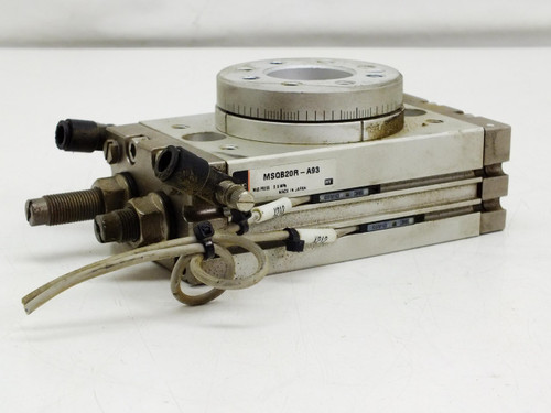 SMC Pnumatic Actuator Rotary Table Rack and Pinion Stage MSQB20R-A93