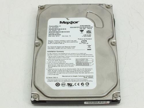 """Maxtor STM3160815A 160GB 3.5"""" P/N 9DS032-327 DiamondMax 21 Hard Drive"""