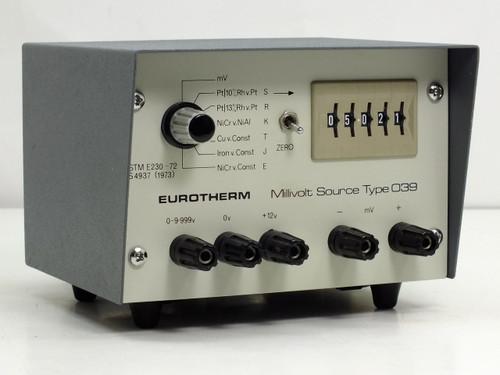 Eurotherm 039 Millivolt Source Type