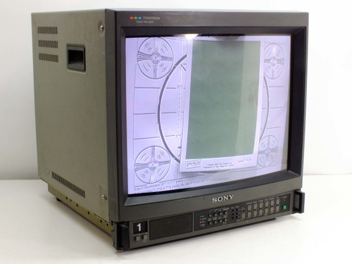 "Sony PVM-2044QM 19"" CRT Color Video Monitor"