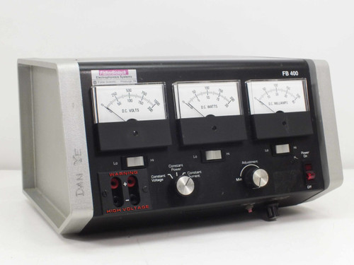 Fisher Scientific FB 400 Electrophoresis DC Power Supply 0-1000 VDC 0-200 mA