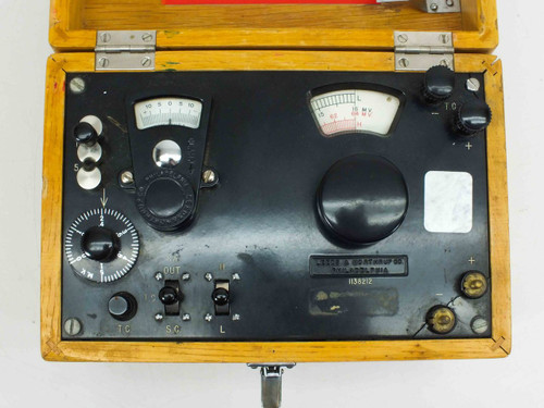Leeds & Northrup Millivolt Testing Unit Reactor MTR Real Inst 1138212