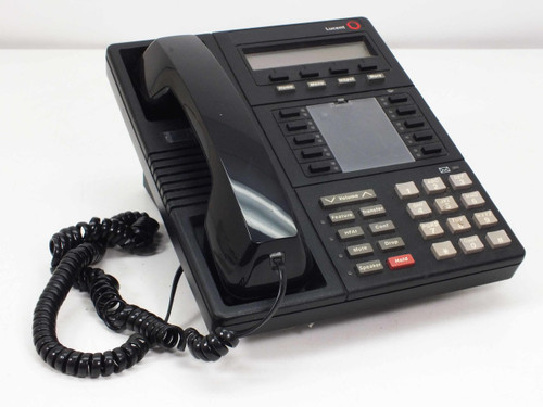 Lucent MLX-10D 10-Line Office Phone with Display and Handset - BLACK