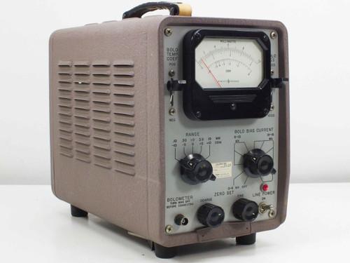 HP 801-58 Bolometer Power Meter FS1-MA