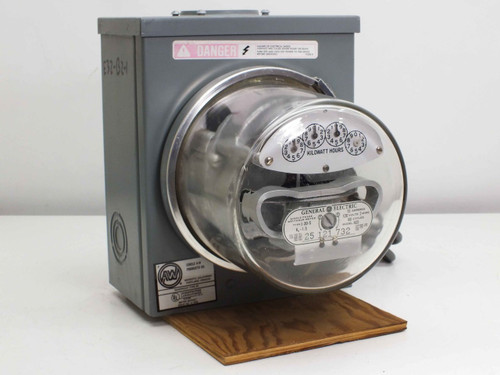 GE AC5 Single-Phase Watthour Meter w/ Type 3R Electrical Enclosure (I-30-S)
