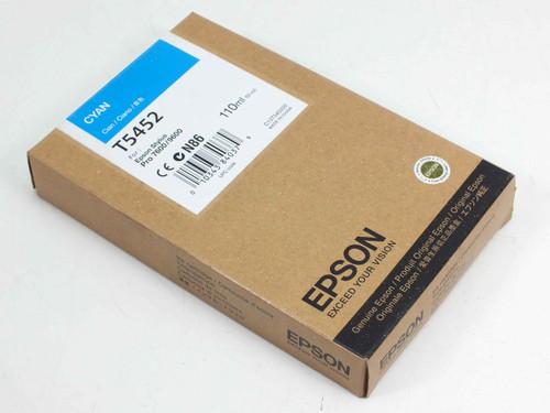 Epson T5452 Cyan 110ml Vol. Ink Cartridge C13T545200
